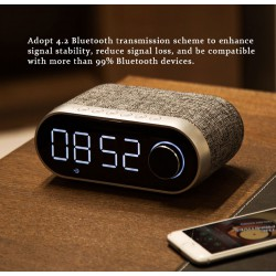 REMAX RB - M26 Bluetooth Clock Speaker