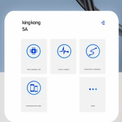 WK DESIGN WDC-083 King Kong 5A Fast Charge Data Cable